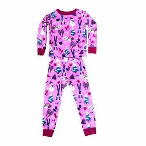 Girls 4T Hatley winter / Christmas print pajamas